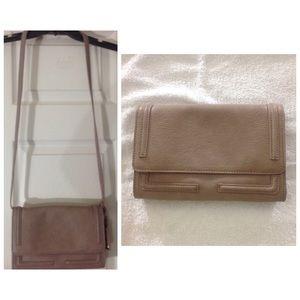 Taupe Liz Claiborne *2-in-1* multi-pocket purse